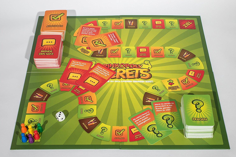 Drinkopoly - Test des spaßigen Trinkspiels für Erwachsene + dem ...