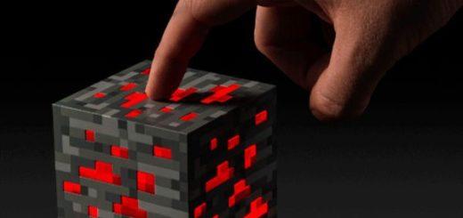 Originalität-Minecraft-diamant-erz-leuchten-Taschenlampe-LED-Minecraft-lampe-Redstone-touch-aktivieren-nachtlicht-cube-für-kinder